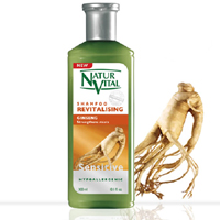 NaturVital Revitalising Ginseng Şampuan % 33 Extra 400 ml