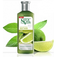 NaturVital Oily Hair Lime Şampuan 300 ml