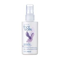 AVON Foot Works Lavender Soothing Foot Spray - Rahatlatıcı Ayak Spreyi/Lavanta 100 ml