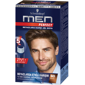 Schwarzkopf Men Perfect Amonyaksız Jel 60-Kahve