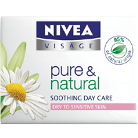 Nivea Pure & Natural Nemlendirici Gündüz Kremi Normal ve Karma Ciltler