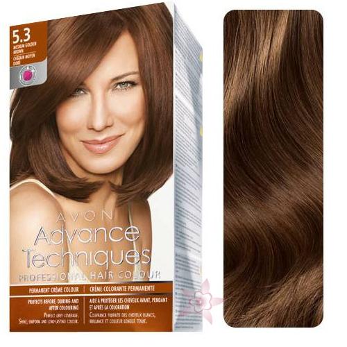 Avon Advance Techniques Saç Boyası 53 Dore Kahve Mükemmel Renk