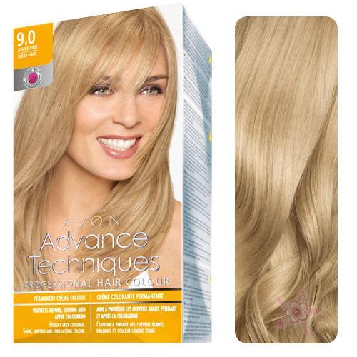 Avon Advance Techniques Saç Boyası 90 Sarı Renk Yoğun Mükemmel