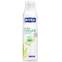 Nivea Pure & Natural Action Jasmine Sprey