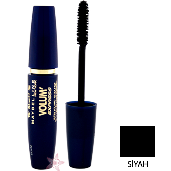7d26400212b Maybelline Volum' Express Ultra Volume Ultra Fast Maskara Siyah ...