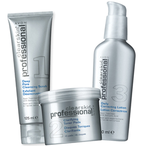 AVON Clearskin Professional 3lü Set