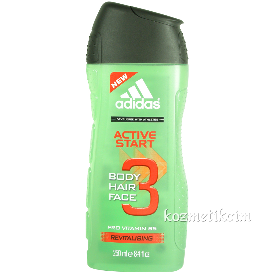 Adidas Active Start Üçü Bir Arada Duş Jeli 250 ml