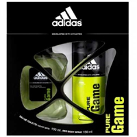 Adidas Adidas Pure Game Edt 100 ML + Deo 150 ml Erkek Set