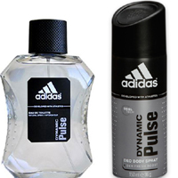 Adidas Dynamic Pulse Edt 100 ML + Deo 150 ml Erkek Set