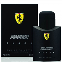 Ferrari Scuderia Ferrari Black Edt 75 ml