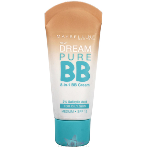 Maybelline Dream Pure BB Krem 8  in 1  30 ml  Medium