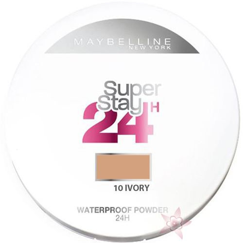 Maybelline Super Stay 24h Waterproof Powder 10 Ivory