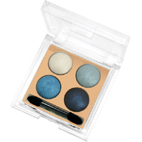 Golden Rose Wet & Dry Eyeshadow - 4'lü Far