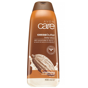 AVON Care Cocoa Butter Body Lotion - Kakao Yağı ve E Vitamini İçeren Losyon 400 ml