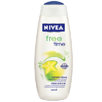 Nivea Free Time  Duş Jeli 500 ml
