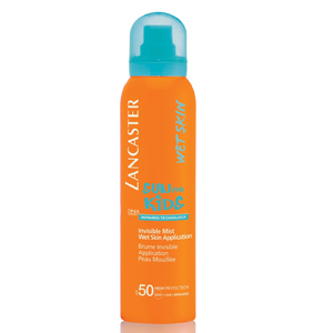 Lancaster Sun For Kids Invisible Mist Wet Skin Application Body Spf 50-125 ml