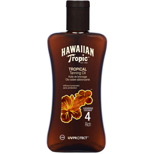 Hawaiian Tropic Tropical Tanning Oil Spf 4 Rich -Bronzlaştırma Yağı 200 ml