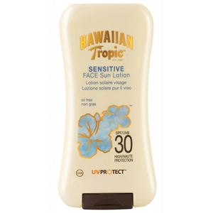 Hawaiian Tropic Sensitive Face Sun Lotion SPF 30 -Koruyucu Yüz Losyonu 120 ml