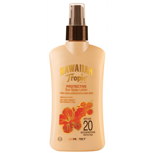 Hawaiian Tropic Protective Sun Spray Lotion Spf 20-Koruyucu Güneş Losyonu 200 ml