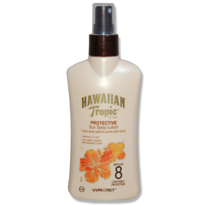 Hawaiian Tropic Protective Sun Spray Lotion Spf 8-Koruyucu Güneş Losyonu 200 ml