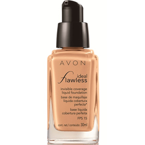 AVON ideal Flawless invisible Coverage Fondöten SPF-15