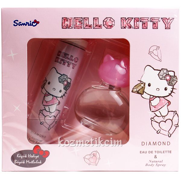 Hello Kitty Diamond EDT 50 ml Çocuk Parfüm Seti