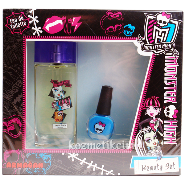 Monster High Edt 50 ml Çocuk Parfüm Seti Ojeli