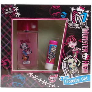 Monster High Edt 50 ml Çocuk Parfüm Seti Dudak Kremli