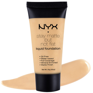 NYX  Stay Matte But Not Flat Fondöten