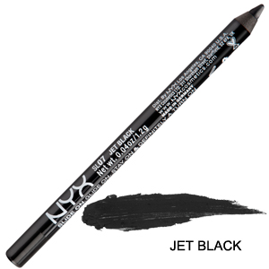 NYX  Slide On Eye Pencil Yumuşak Uçlu Göz Kalemi Jet Black