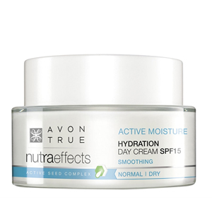 AVON Nutra Effects Hydration Gündüz Kremi SPF15 Kuru ve Normal Ciltler için - 50ml
