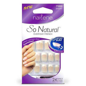 Nailene So Natural Comfort Flex Petite Pink French Takma Tırnak - 71003