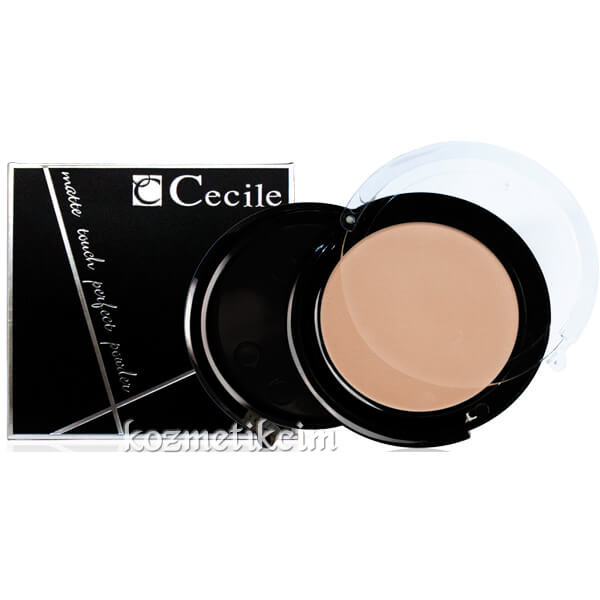 Cecile Matte Touch Perfect Powder Toz Pudra
