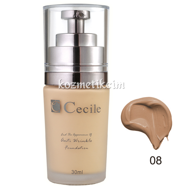 Cecile End The Appearance Of Anti Wrinkle Foundation 08