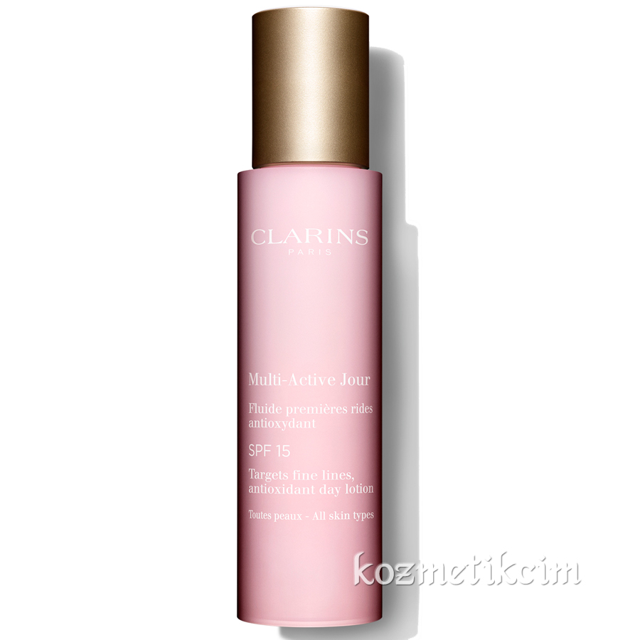 Clarins Multi-Active Antioxidant Day Cream Lotion SPF 15 50 ml Tüm Ciltler İçin