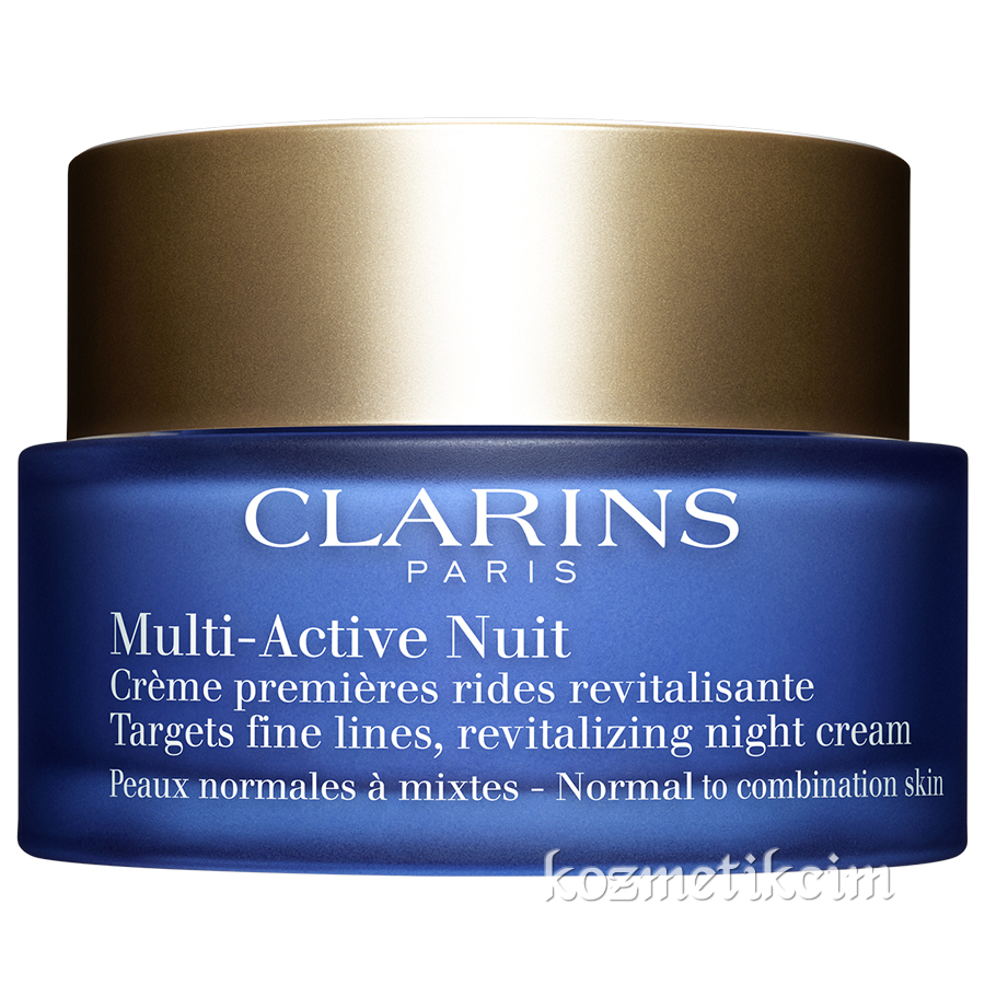 Clarins Multi-Active Revitalizing Night Cream 50 ml Normal ve Karma Ciltler İçin