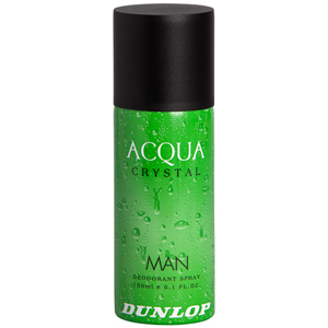 Dunlop Acqua Crystal Deodorant Spray 150 ml