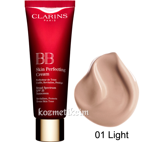 Clarins BB Skin Perfecting Cream SPF 25 01 Light