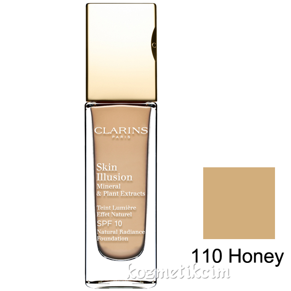 Clarins Skin Illusion Natural Radiance Foundation SPF 10 110 Honey