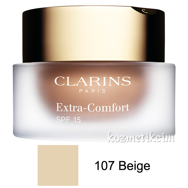 Clarins Extra-Comfort Anti-Aging Foundation SPF 15 107 Beige