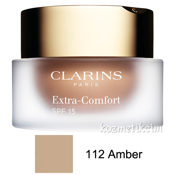 Clarins Extra-Comfort Anti-Aging Foundation SPF 15 112 Amber