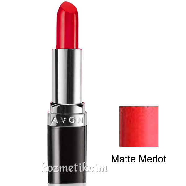 Avon Ultra Colour Mat Ruj Matte Merlot Kozmetikcim