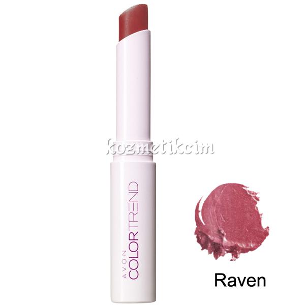 Avon Color Trend Uzun Süre Kalıcı Ruj Raven Kozmetikcim