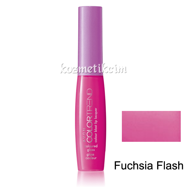 AVON Color Trend Colour Dudak Parlatıcı Fuchsia Flash