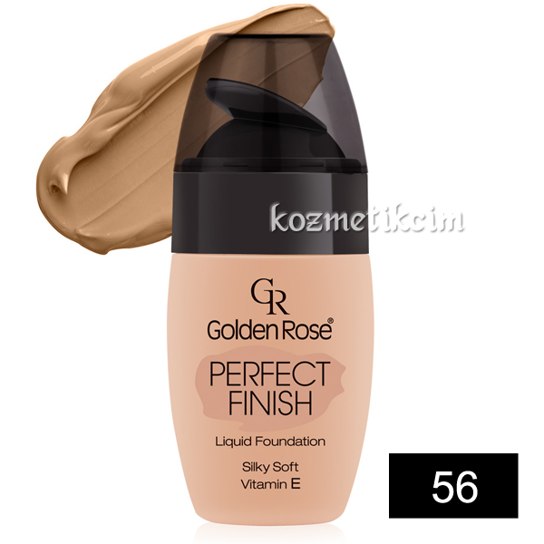 Golden Rose Perfect Finish Liquid Fondöten 56