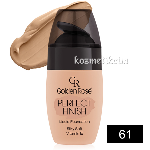 Golden Rose Perfect Finish Liquid Fondöten 61