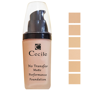 Cecile No Transfer Matte Performance Foundation