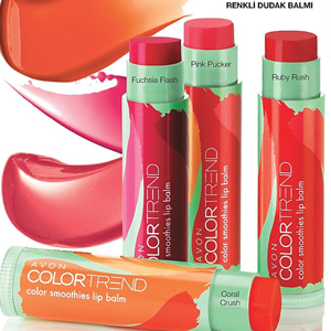 AVON Color Trend Colour Smoothies Dudak Balmı