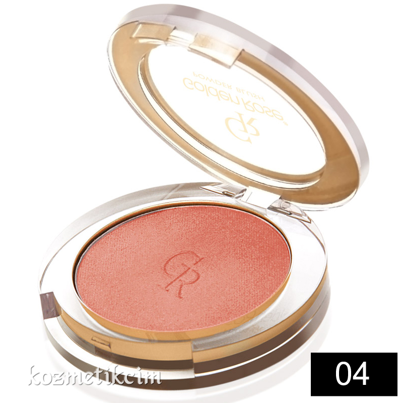 Golden Rose Powder Blush Allık 04 Bronze Rose