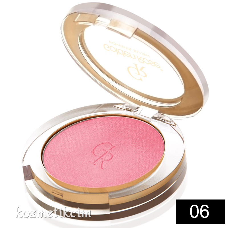 Golden Rose Powder Blush Allık 06 Candy Pink